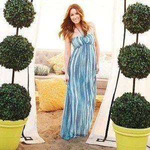 LC Lauren Conrad Dresses - LC Lauren Conrad • Blue Maxi Dress